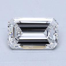 推荐宝石 2:1.02 克拉祖母绿切割钻石