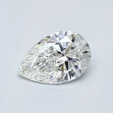 0.55 Carat 梨形 Diamond 非常好 H VS1