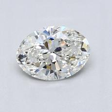 Recommended Stone #4: 0.80-Carat Oval Cut Diamond