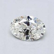 Recommended Stone #4: 0.71-Carat Oval Cut Diamond