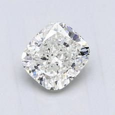 1.02 Carat クッション Diamond ベリーグッド J VS2