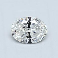 Recommended Stone #1: 0.63-Carat Oval Cut Diamond