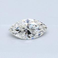 Pierre recommandée n°4: Diamant taille princesse 0,42 carat