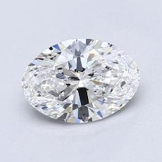 Recommended Stone #1: 1.02-Carat Oval Cut Diamond