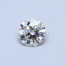 Pierre recommandée n°3: Diamant rond 0,36 carat