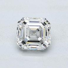 Piedra recomendada 4: Diamante de talla esmeralda de 1.02 quilates
