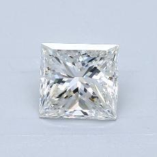 推荐宝石 1:1.50 克拉公主方形钻石