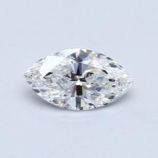 0.50-Carat Marquise Diamond Very Good E IF