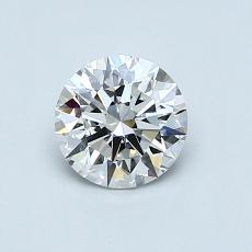 ターゲットの石:0.70カラットラウンドカットダイヤモンド