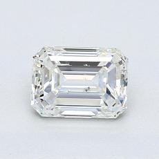 Recommended Stone #3: 0.91-Carat Emerald Cut Diamond
