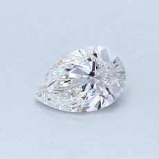 Current Stone: 0.40-Carat Pear Shaped