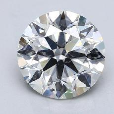 Recommended Stone #4: 3.35-Carat Round Cut