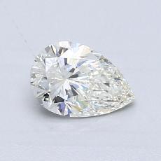 0,60-Carat Pear Diamond Very Good H VS1