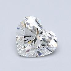 1.01-Carat Heart Diamond Very Good F SI2