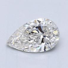 Recommended Stone #4: 0,97-Carat Pear Cut Diamond