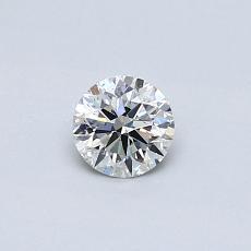 0.31 Carat 圆形 Diamond 理想 H SI1