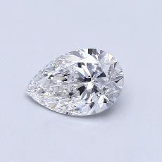 Recommended Stone #2: 1.06-Carat Pear Shaped