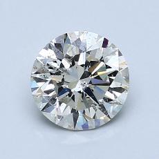 オススメの石No.4:1.19カラットのラウンドカットダイヤモンド
