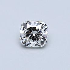 オススメの石No.2:0.42カラットのクッションカットダイヤモンド