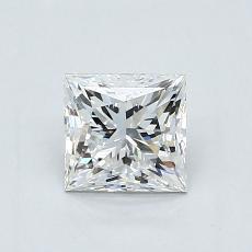 推薦鑽石 #2: 0.91  克拉公主方形鑽石