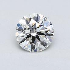 0.78 Carat 圆形 Diamond 理想 H SI1