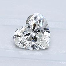 Recommended Stone #2: 0.80-Carat Heart Cut Diamond