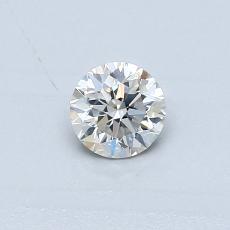 推薦鑽石 #1: 0.31 克拉圓形切割鑽石