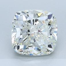 推荐宝石 4:5.09 克拉垫形钻石
