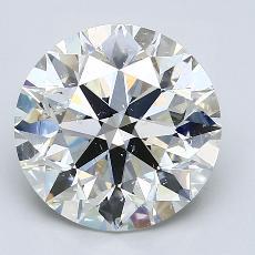 Current Stone: 3.84-Carat Round Cut