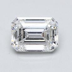 Recommended Stone #2: 1.22-Carat Emerald Cut Diamond