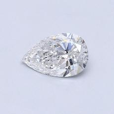 1.01-Carat Pear Diamond Very Good F SI2