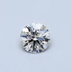 Recommended Stone #4: 0.33-Carat Round Cut Diamond