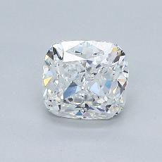 1.04-Carat Cushion Diamond Very Good F VVS2