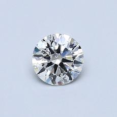 Recommended Stone #3: 0.39-Carat Round Cut Diamond