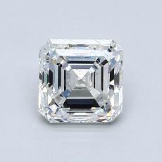 Recommended Stone #4: 0.95-Carat Asscher Cut Diamond