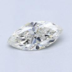 Recommended Stone #3: 0.56-Carat Marquise Cut Diamond