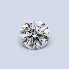 Pierre recommandée n°3: Diamant rond 0,39 carat