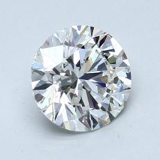 1.20-Carat Round Diamond Ideal H VVS2