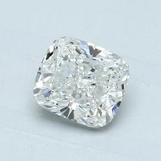 1,01-Carat Cushion Diamond Very Good H SI1