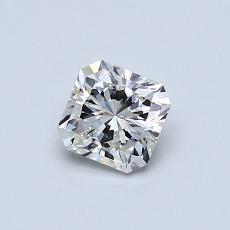 0.51 Carat ラディアント Diamond ベリーグッド I IF