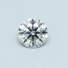 Recommended Stone #1: 0.40-Carat Round Cut Diamond