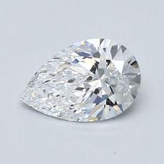 0.70 Carat 梨形 Diamond 非常好 D IF