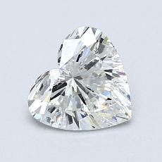 Recommended Stone #2: 0.96-Carat Heart Cut Diamond