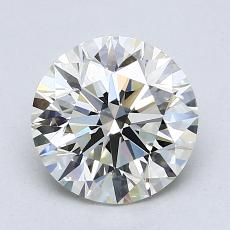 Recommended Stone #2: 1,90-Carat Round Cut