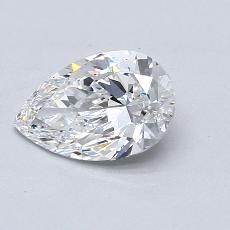 推荐宝石 4:1.06 克拉梨形切割钻石