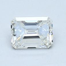 1.00 Carat Esmeralda Diamond Muy buena I VVS2