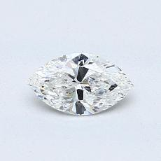 Recommended Stone #4: 0.46-Carat Marquise Cut Diamond