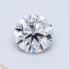 1.00 Carat 圆形 Diamond 良好 F SI1