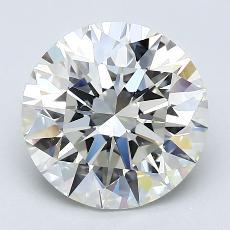 Target Stone: 3.03-Carat Round Cut Diamond