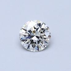 Recommended Stone #3: 0,41-Carat Round Cut Diamond